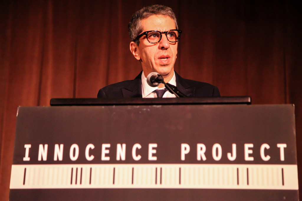 jason flom speaks at the innocence project