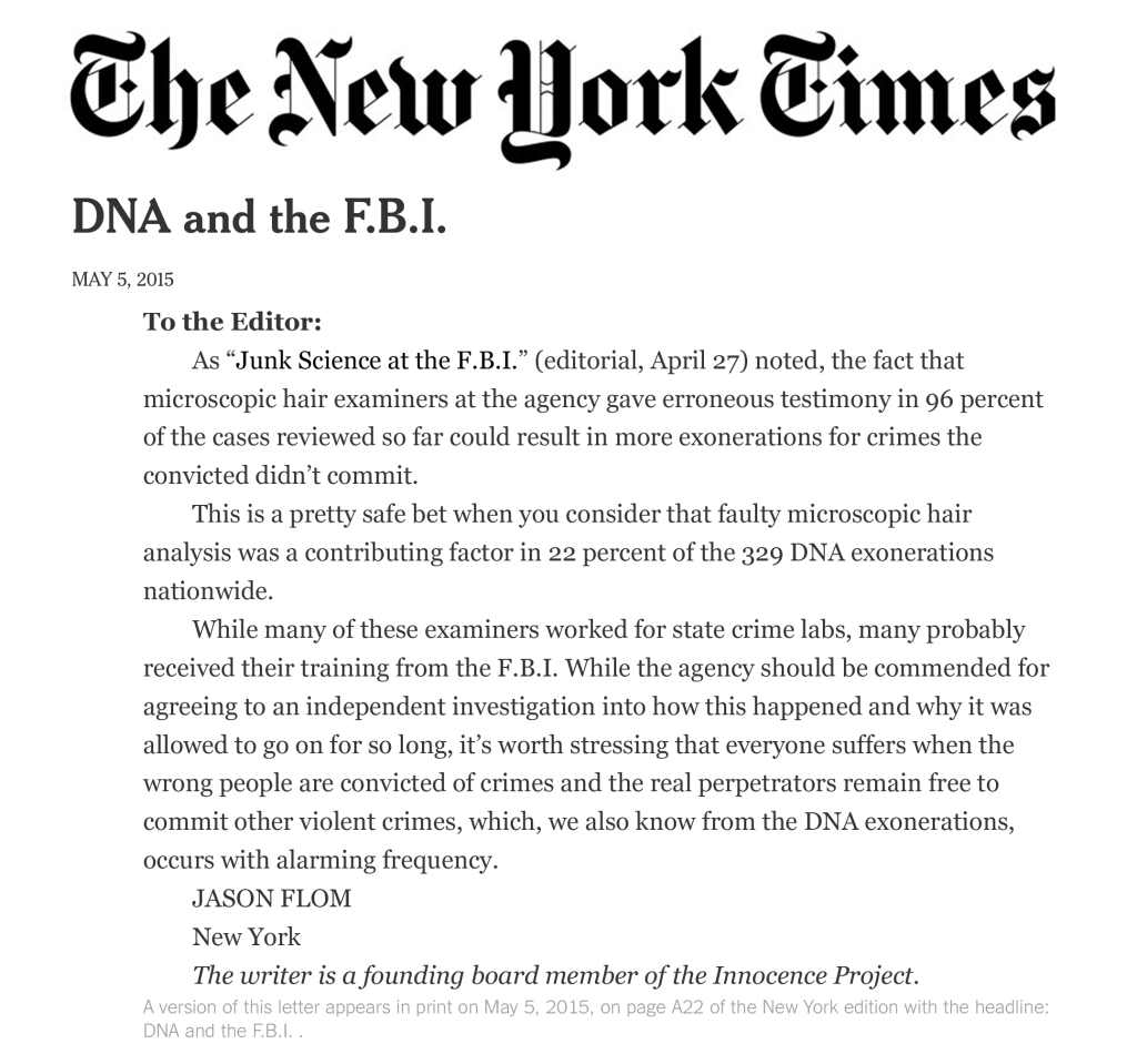 ny times letter to the editor 1